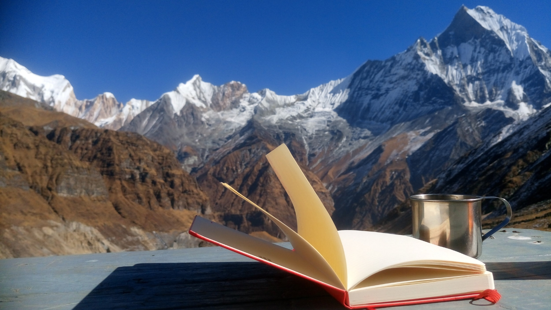 View from Annapurna Base Camp, Nepal