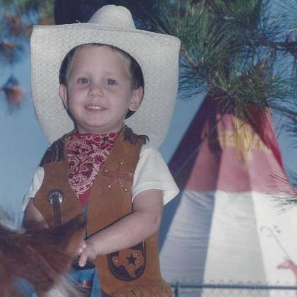 Three-year-old me, Little Ponderosa Daycare