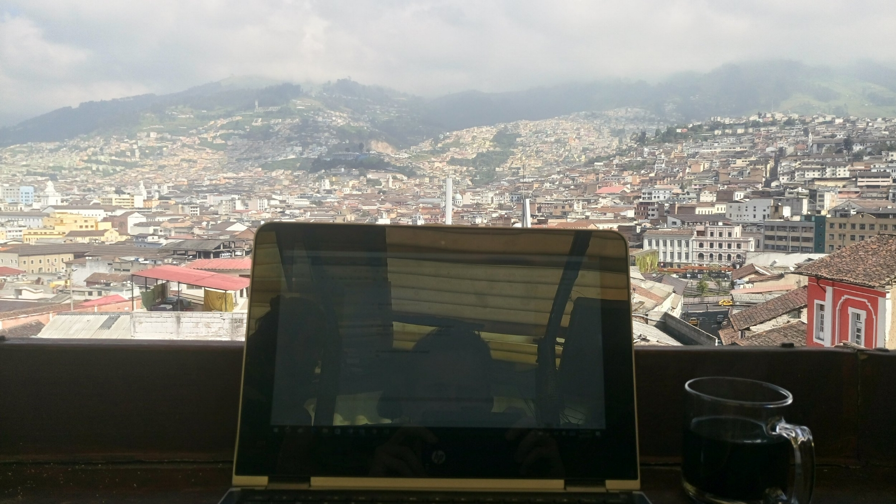 Overlooking Quito, Ecuador