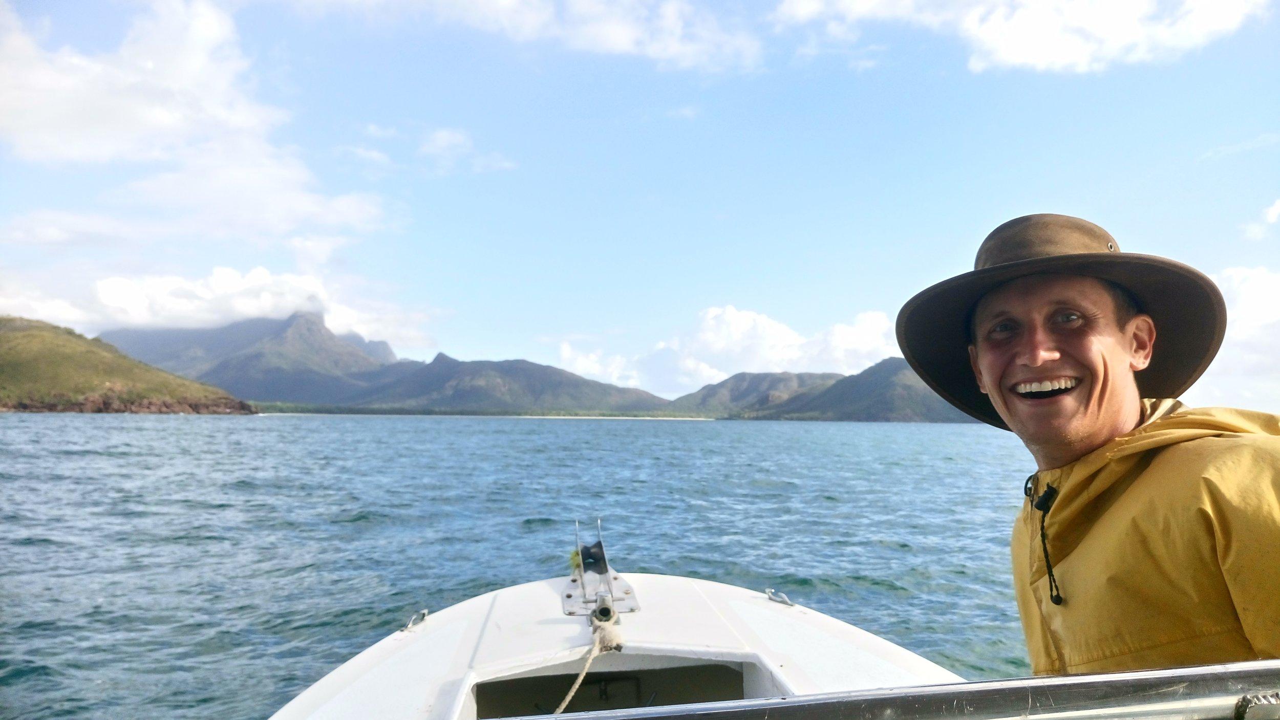 Sailing in Hinchinbrook Island, Far North Queensland, Australia