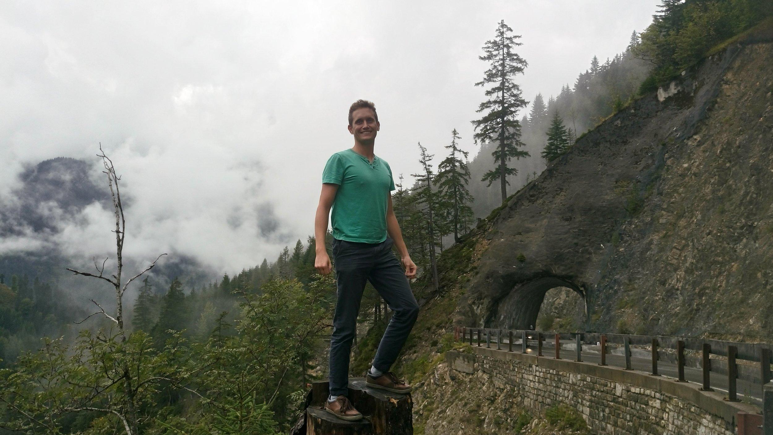 Road trip in Austria's Tyrol region