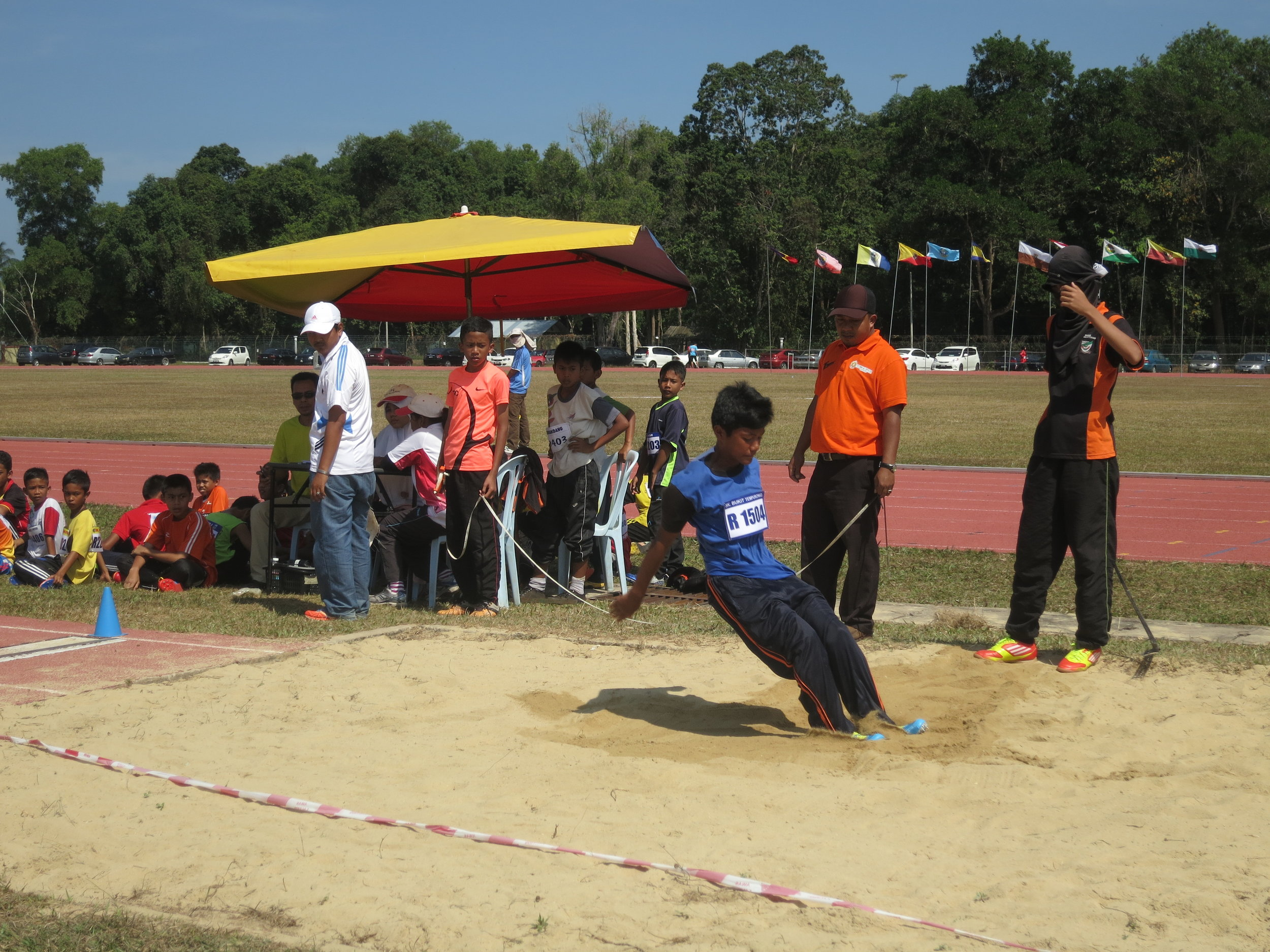 Track and field day at my former Malaysian high school
