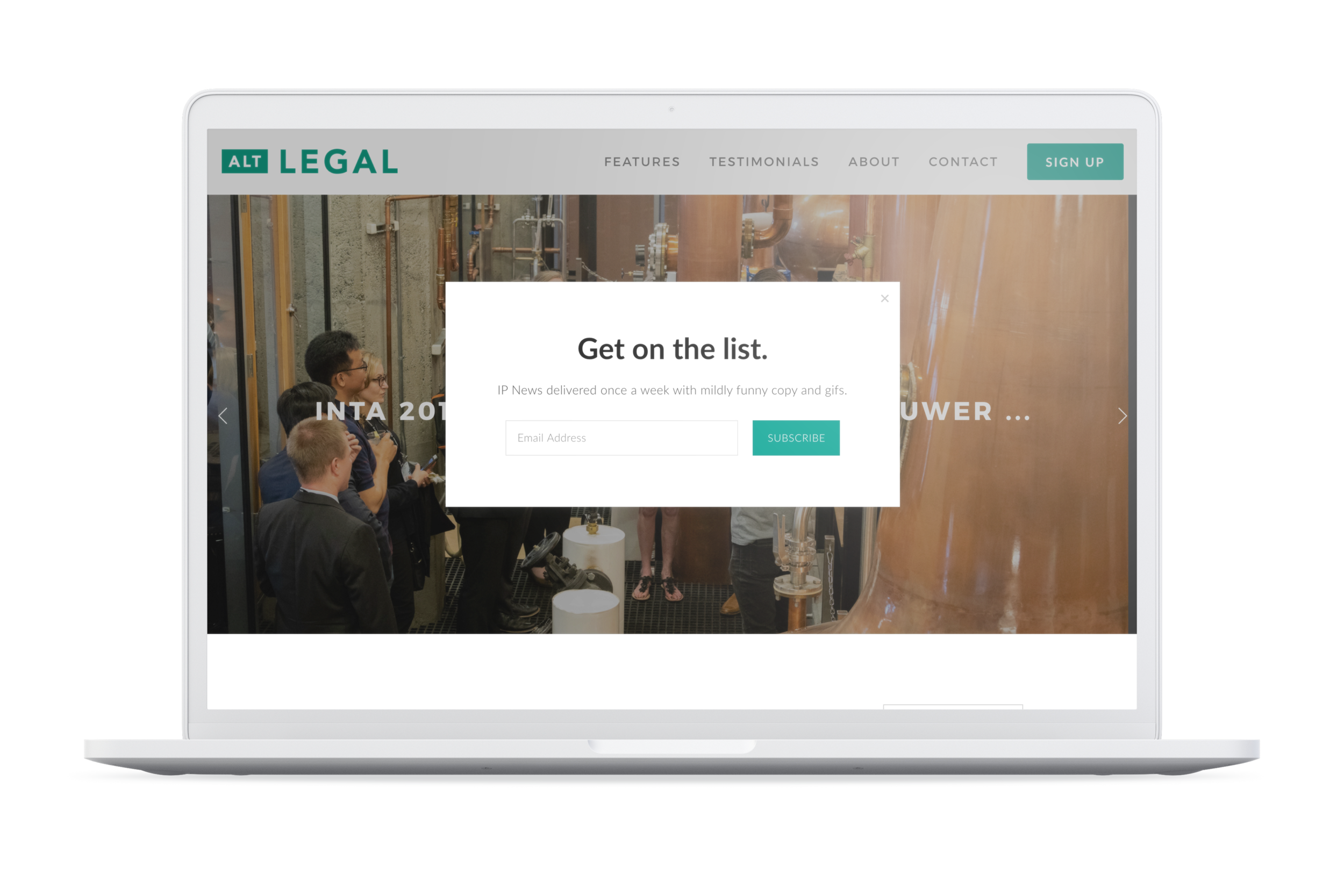 Alt Legal: analytics & design driven marketing