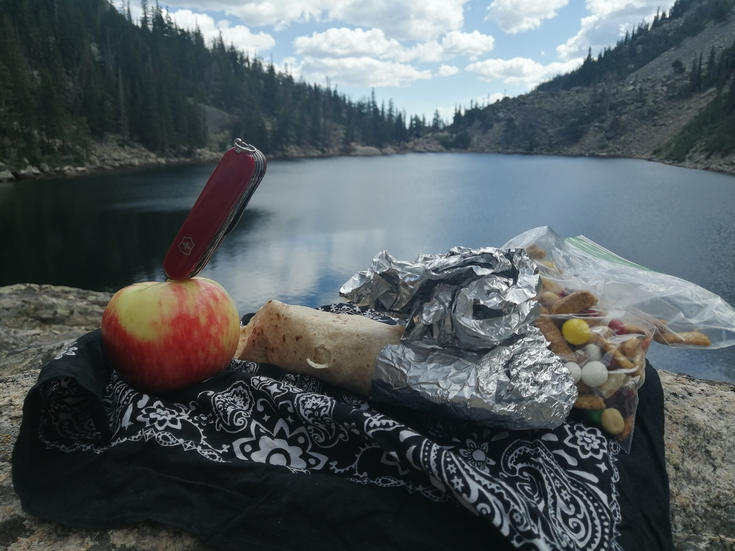 Gourmet Rocky Mountain Lunch at Emerald Lake.