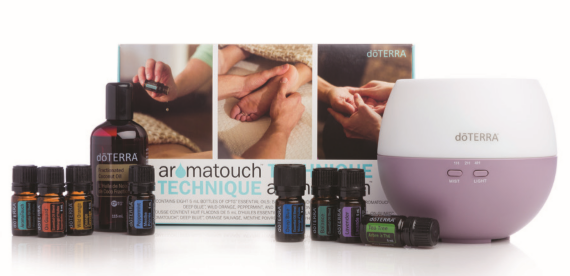 - AromaTouch Kit with Diffuser (CDN $180)