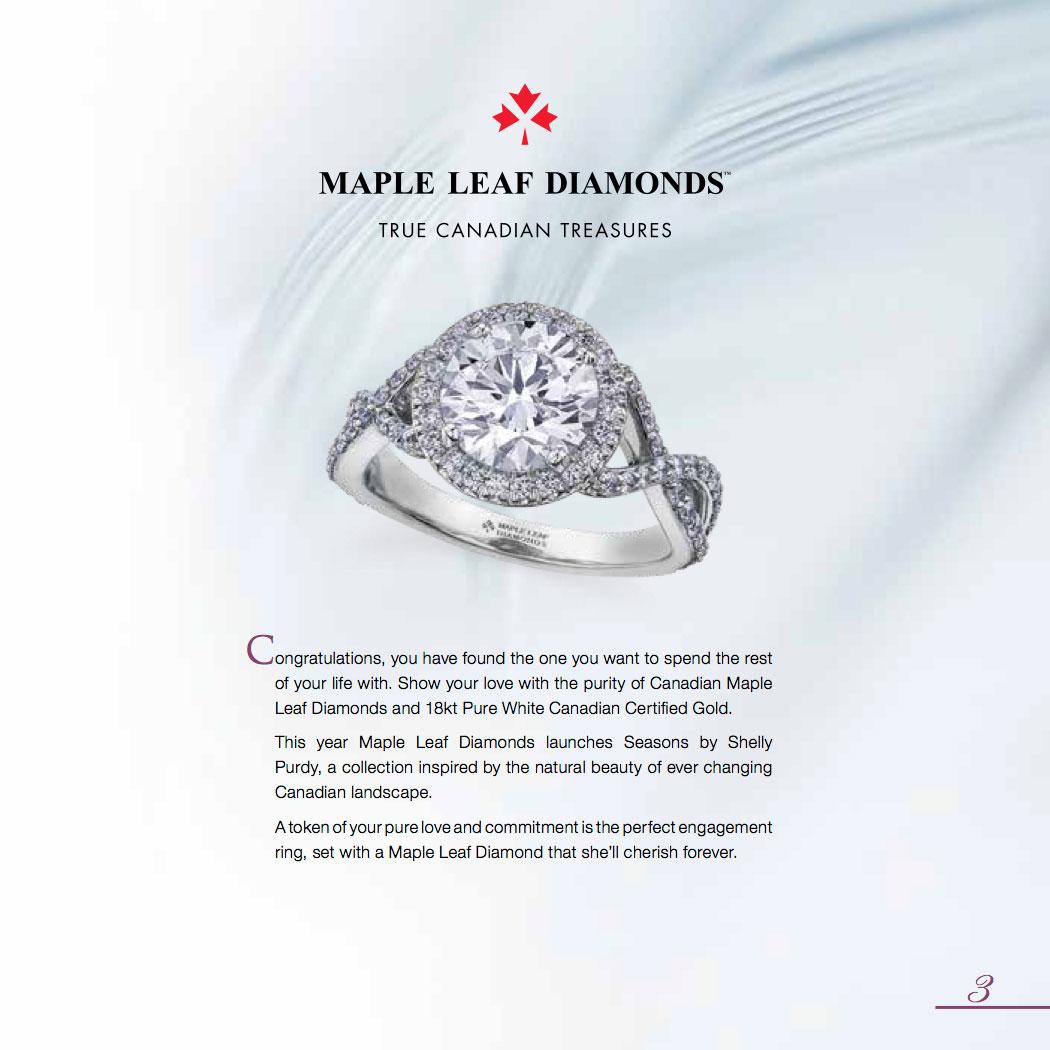 Maple leaf Diamonds a true Canadian treasure.