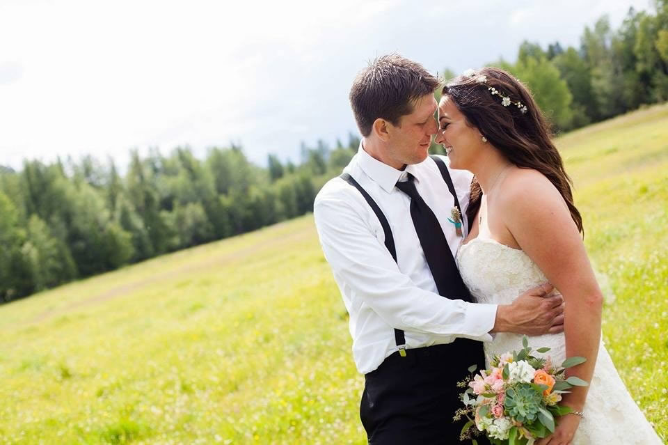 Brody and Lindsey were married at her parent's property in Gold Creek near Cranbrook, BC. ..