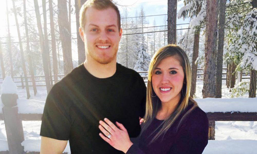 Kerisa Armstrong and Jesse Ferguson engagement photo