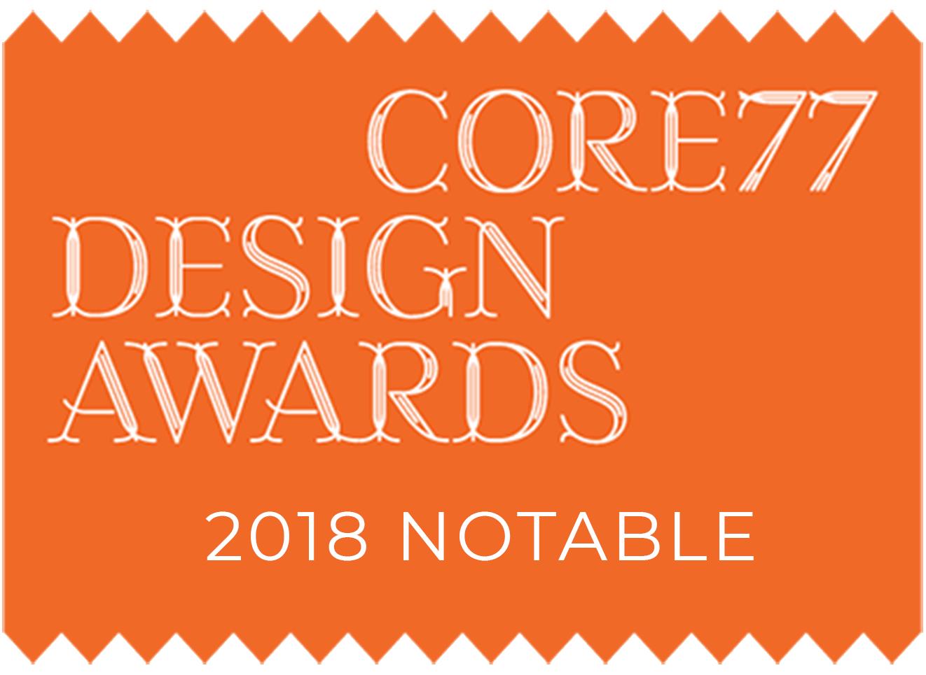 Core77 Design Awards 2018 Notable
