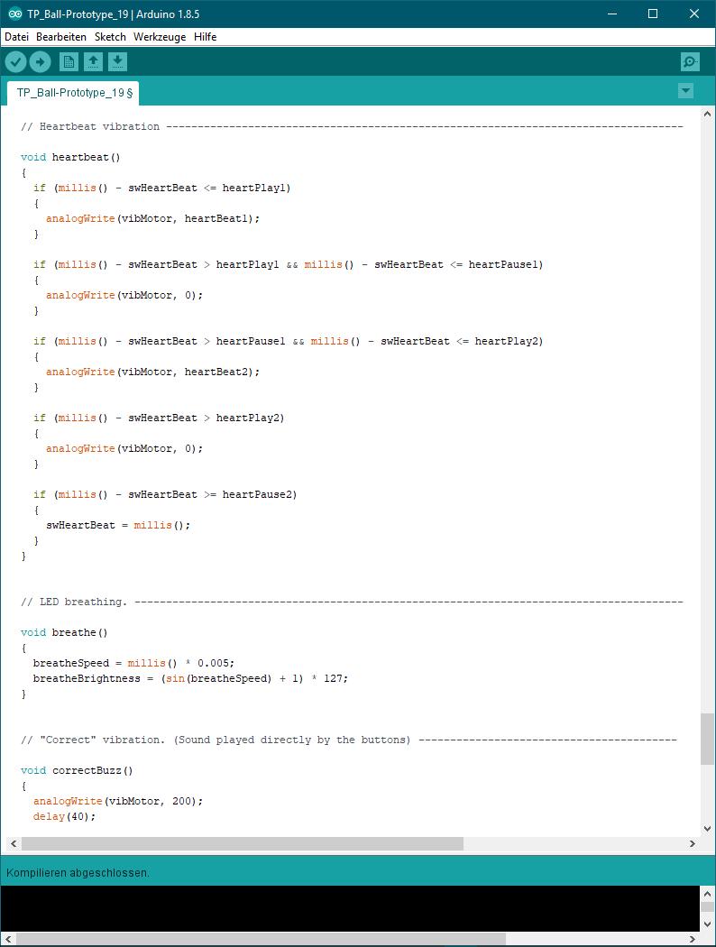 WIM Prototype Arduino Code
