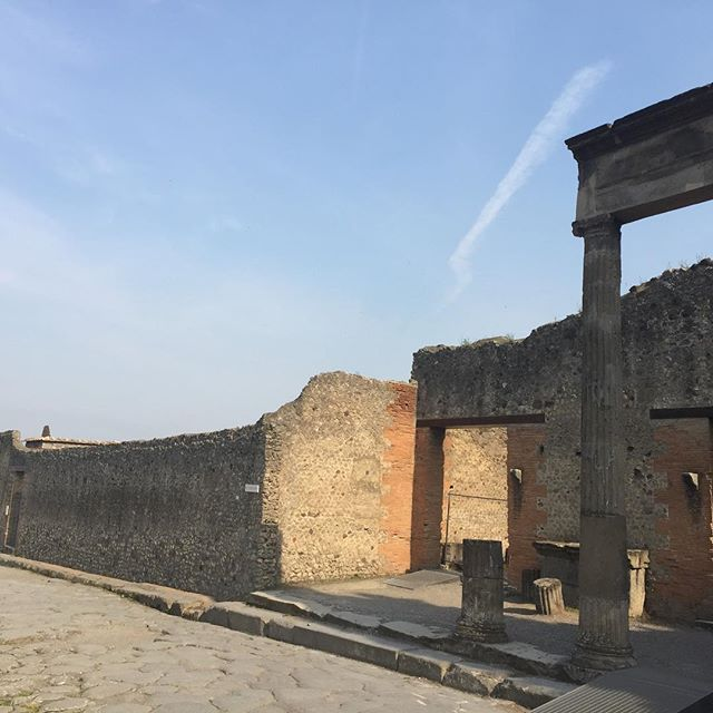 The joy of Pompei. It is hard to believe that we'll be attracting people to study our daily lives 2000 years from now...