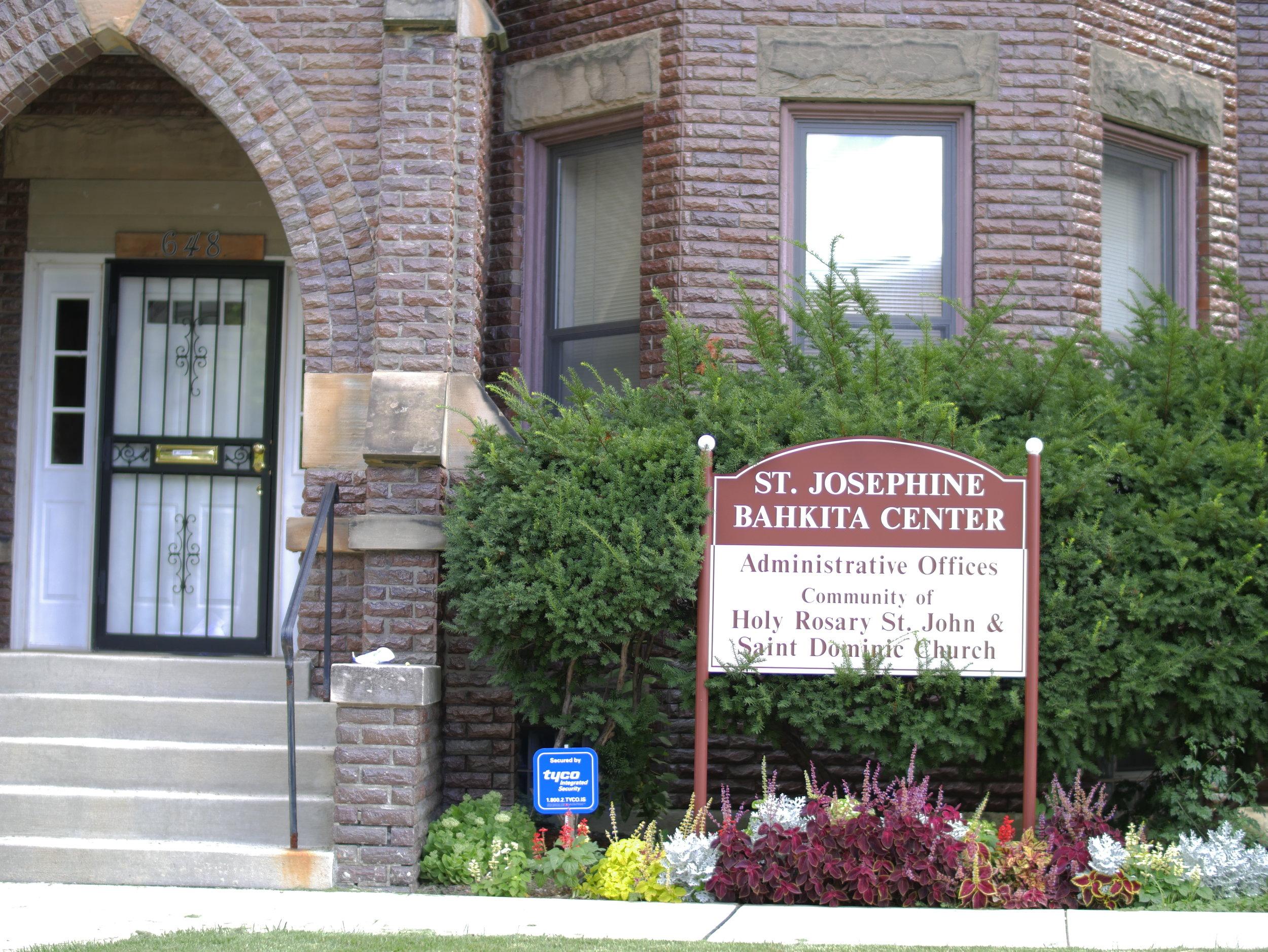 St. Josephine Bahita Center