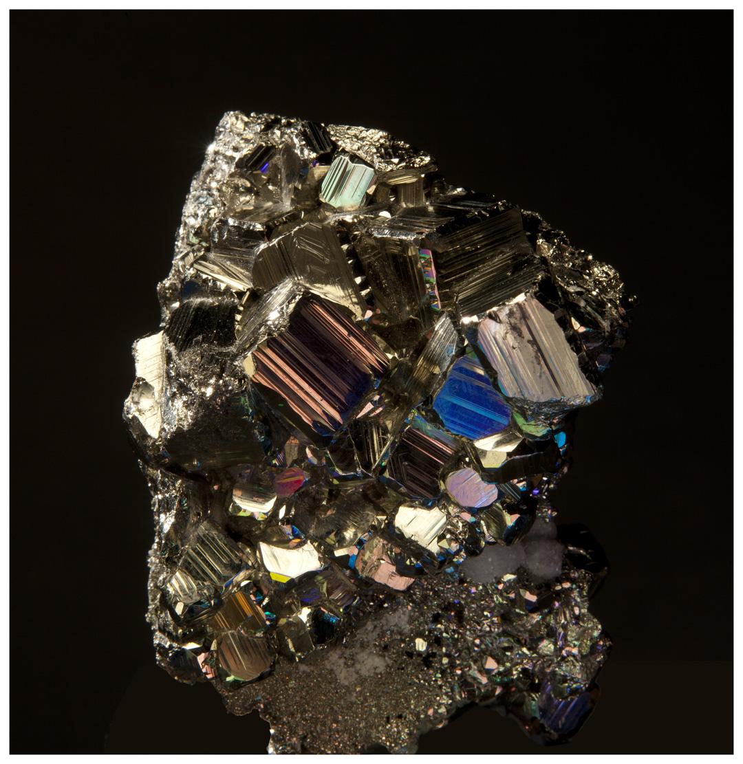 Pyrites Bismuth (front)  3D lenticular print.