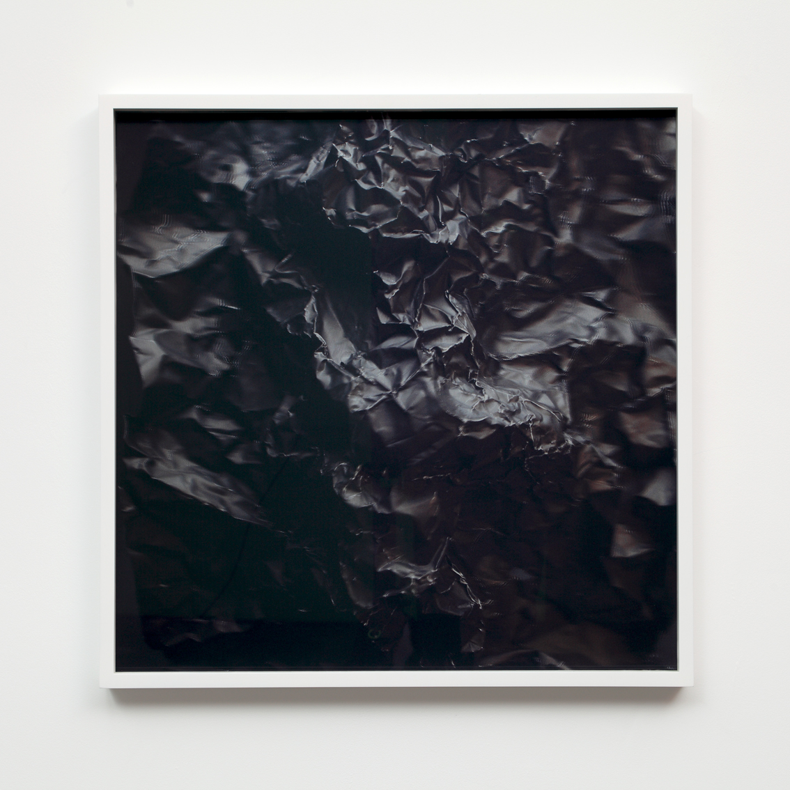 Foil (black) 2  3D lenticular photograph 60x60 cm.