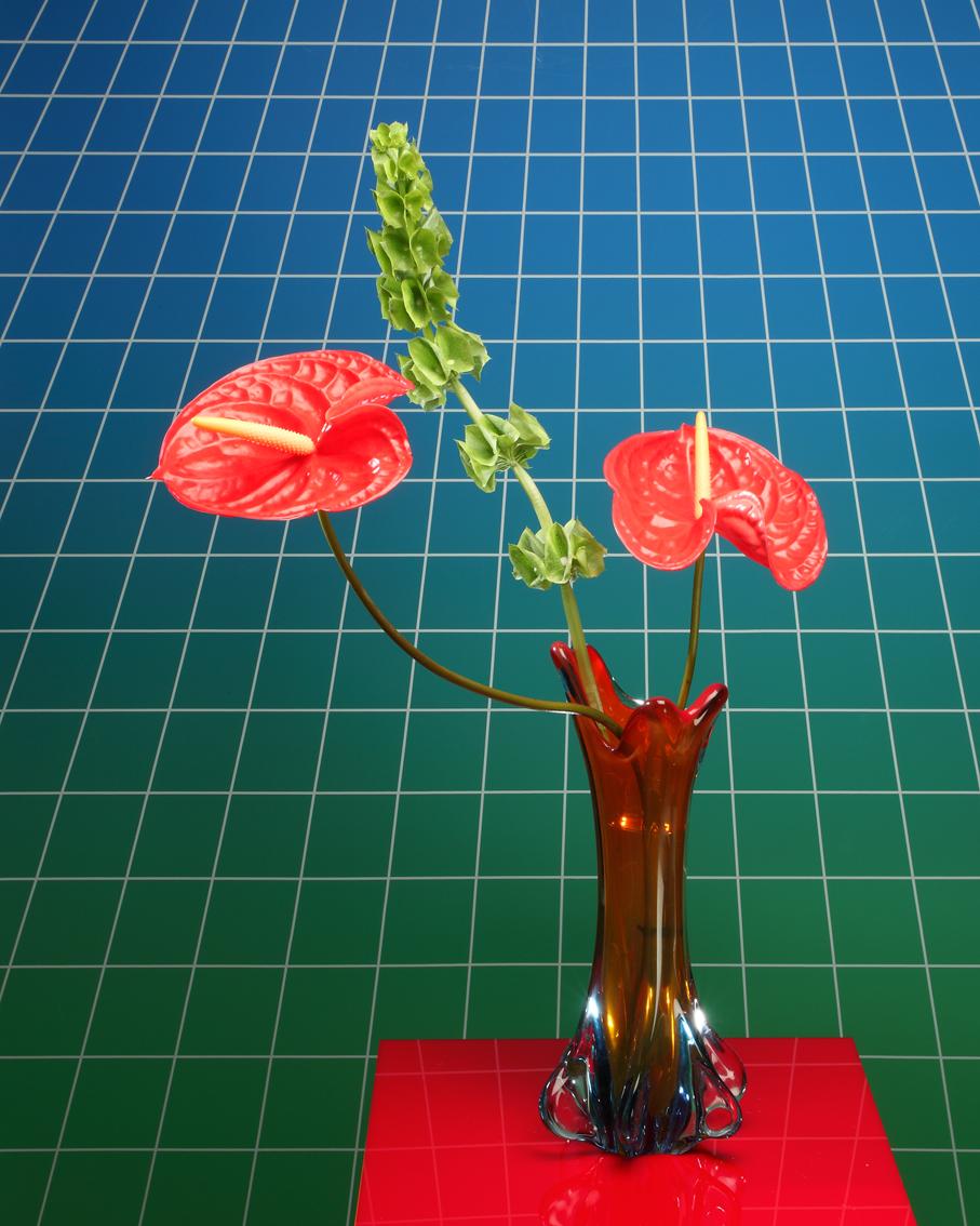 """Anthurium  Lenticular print 16x20"""" / 40x50cm"""