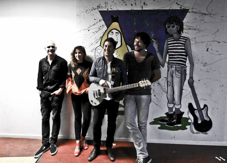 Jaimi Faulkner Band Backstage
