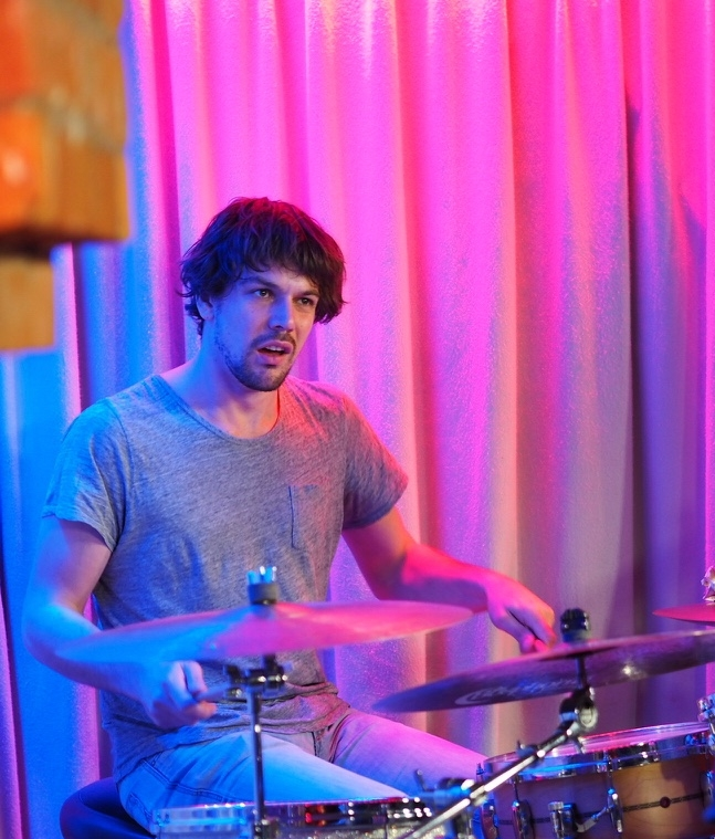 Luuk Adams on Drums