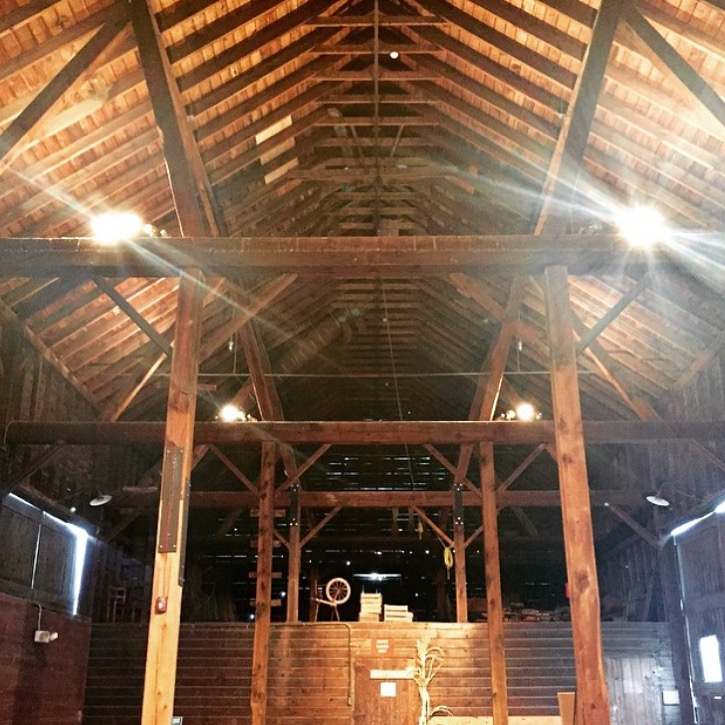 shaker heritage barn wedding venue