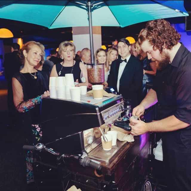 Caffeine at all times of the day, for every event setting. Send us an email and reserve your Espresso Cart today! . . . #atlcoffeetrike #mobileespresso #gala #atlanta #southernexchangeatl #espresso #events #eventsatl #experienceatlanta