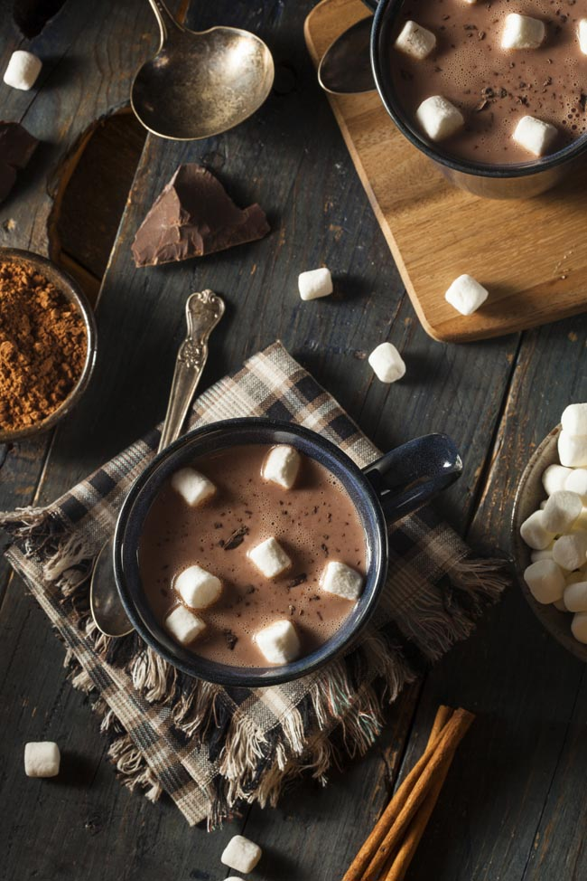 Ghirardelli Hot Cocoa - with Fresh Whip and Toppings