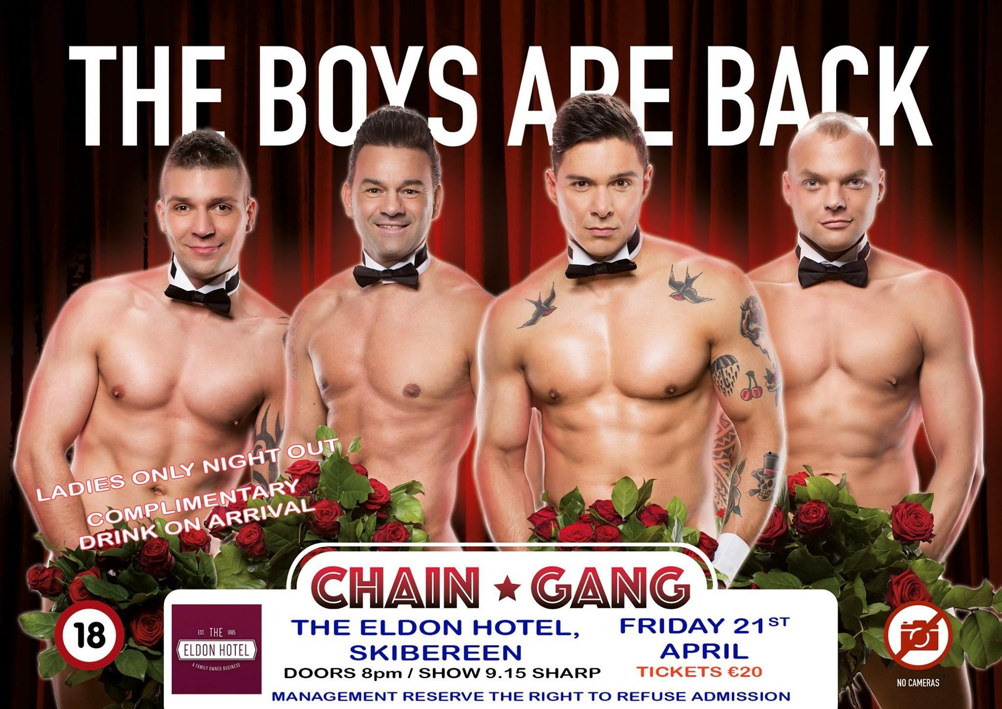 Chain Gang Eldon Hotel