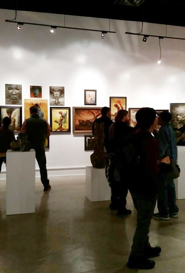 another view of the show