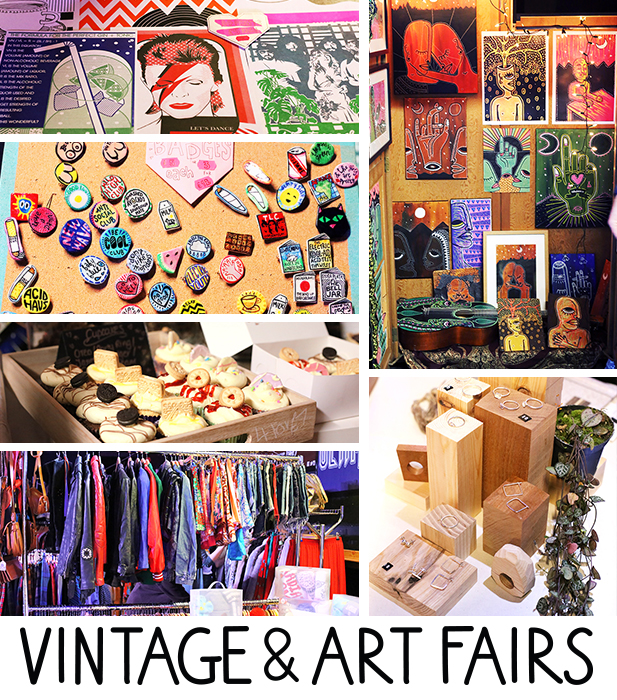 Our fairs host stalls from Manchesters finest independent creatives selling an array of Fashion, Art, Music, Homewares, Poetry, Henna Tattoos, Face Painting, Baked Goods, Sweet Treats and many more...    Traders interested in stall space please contact us for further details and provide us with information on what you sell along with any relevant links/pics. Thank You.