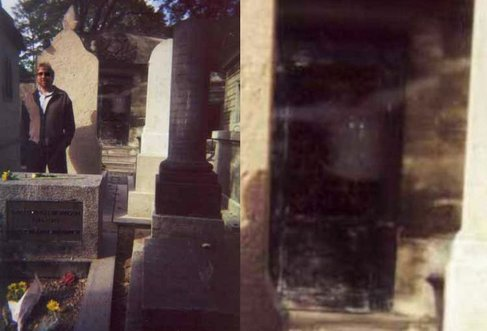 Original photograph               Close up of ghostly figure