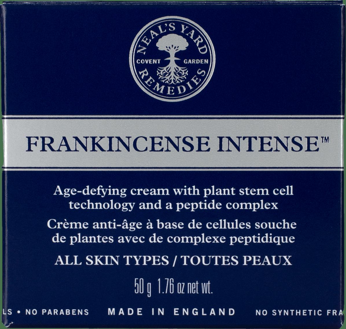Multi-language Frankincense Intense carton