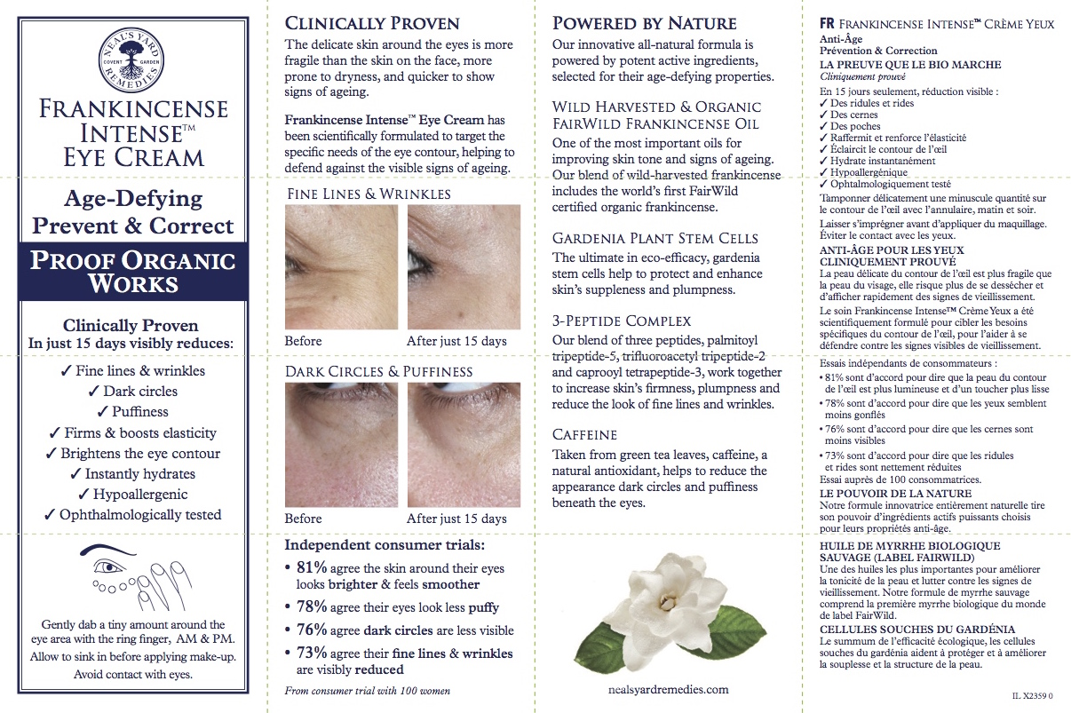 In-carton leaflet - front