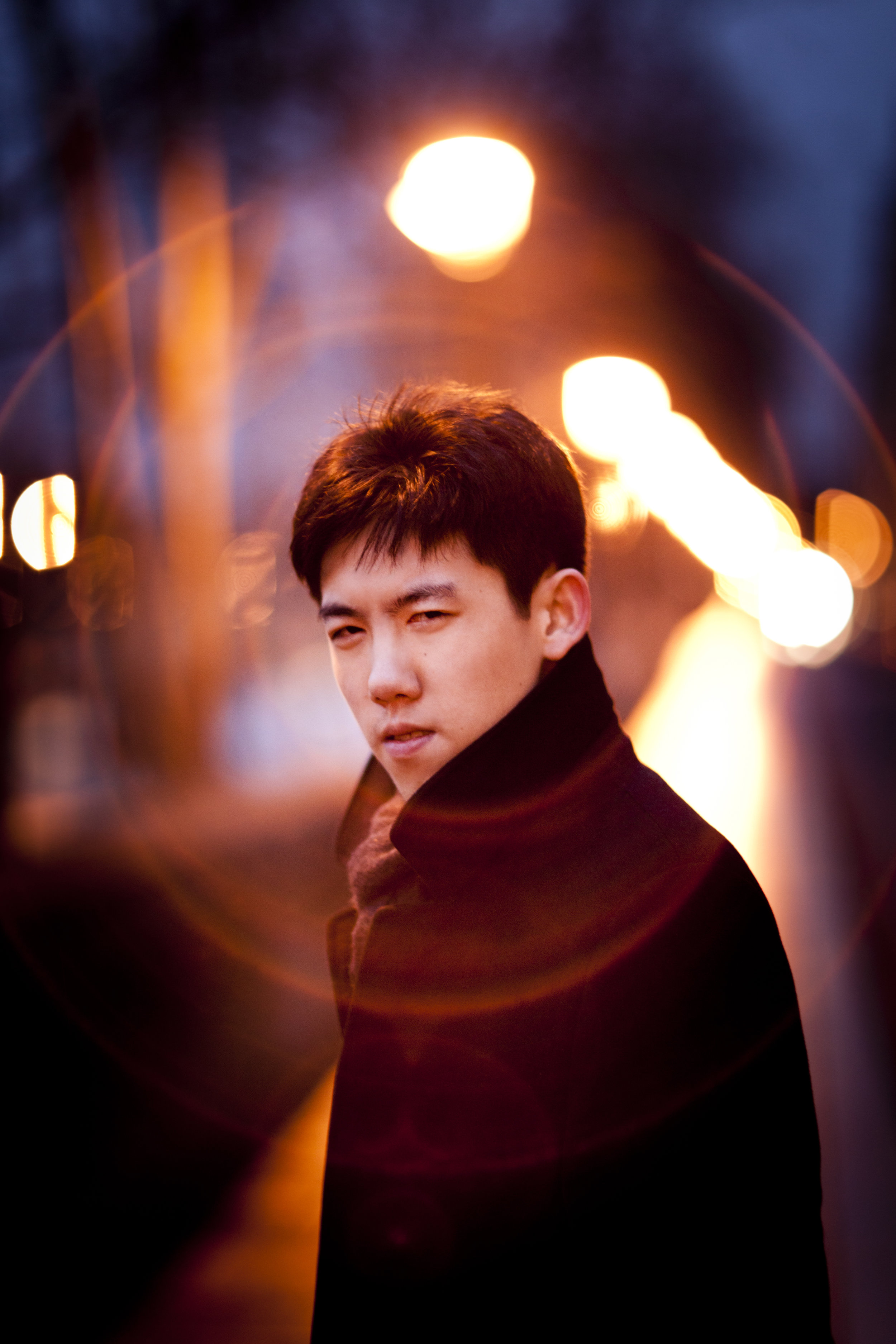 Haochen Zhang, pianist  Photo Credit (including banner photos): Benjamin Ealovega