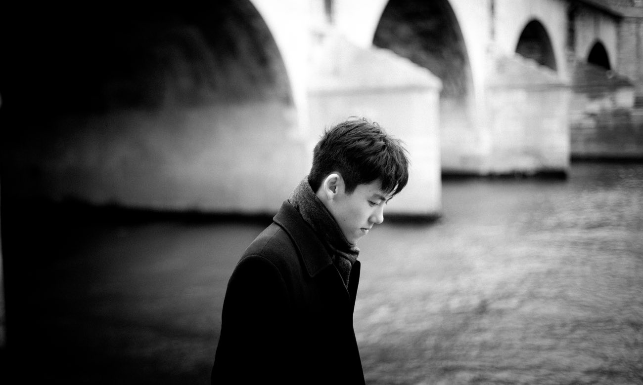 A self-confessed introvert … Haochen Zhang.