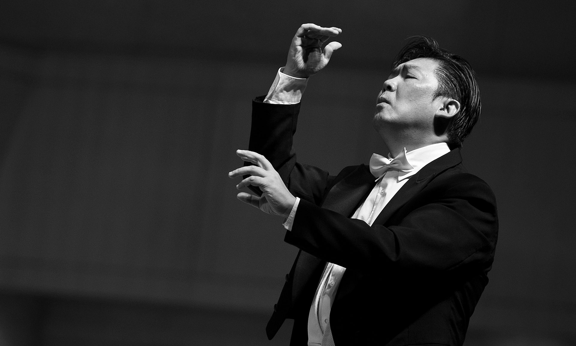 'If I were not a musician, I would still want to connect people' - conductor Long Yu. Photograph: PR