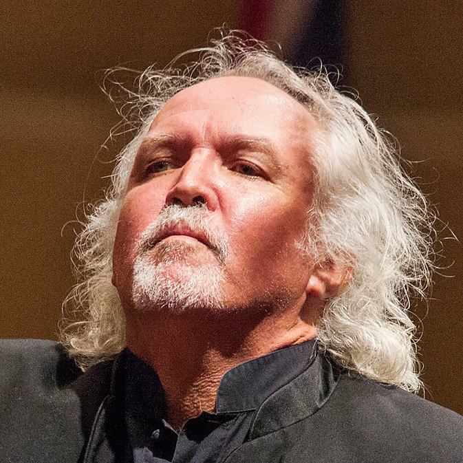 The conductor Donald Runnicles is in charge of the orchestra at the Grand Teton festival. Credit: Michelle McCarron