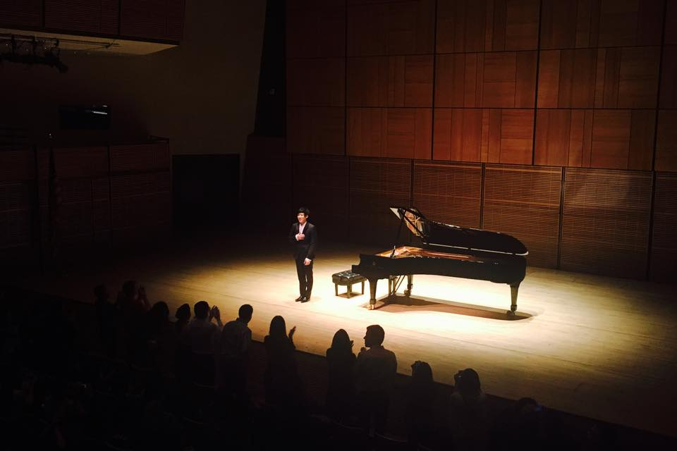Haochen performs at sold out Carnegie Hall