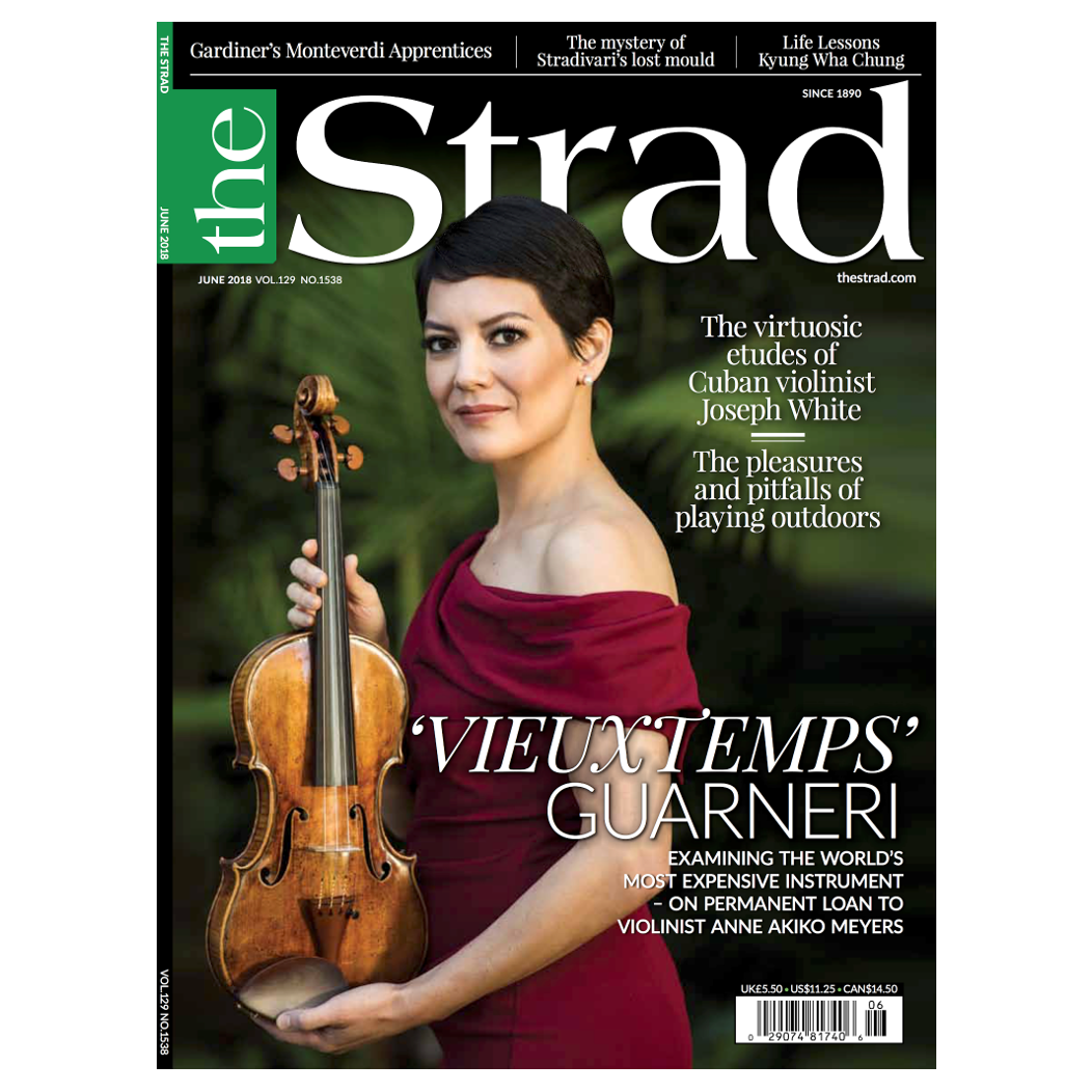 Anne Akiko Meyers on The Strad