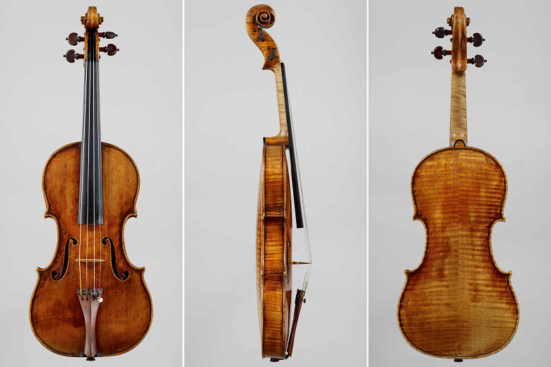 The 'Vieuxtemps' Guarneri 'Del Gesù' Photo: J. & A. Beare Ltd