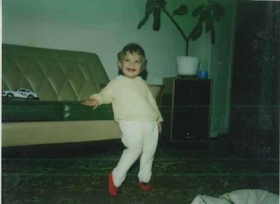 A picture from when I was two years old