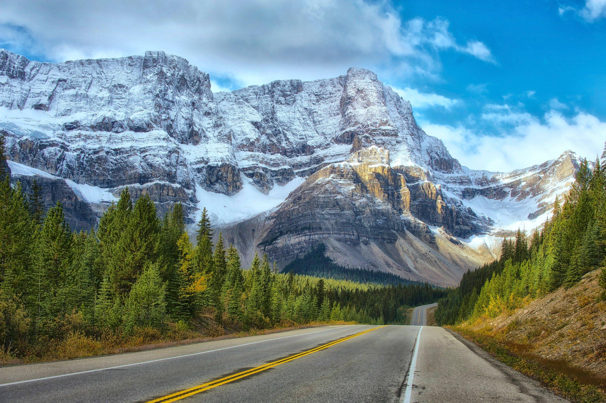 In Banff -
