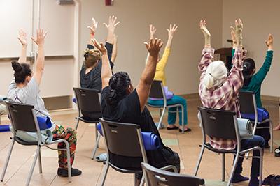 OG Yoga with Alternative Healing Network at Tubman-Chavez