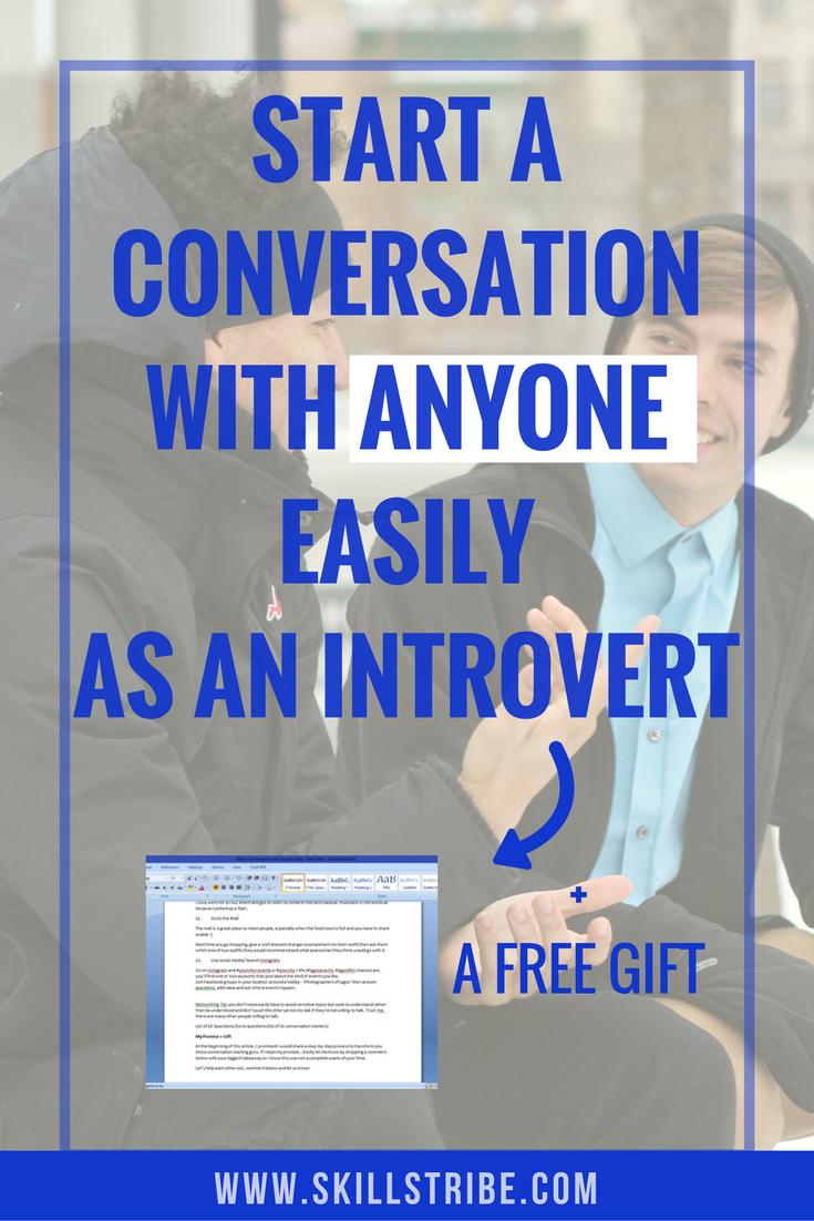 start-conversations