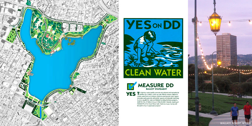 LAKE MERRITT MASTER PLAN (CONSULTANT TO WRT) - OAKLAND, CA