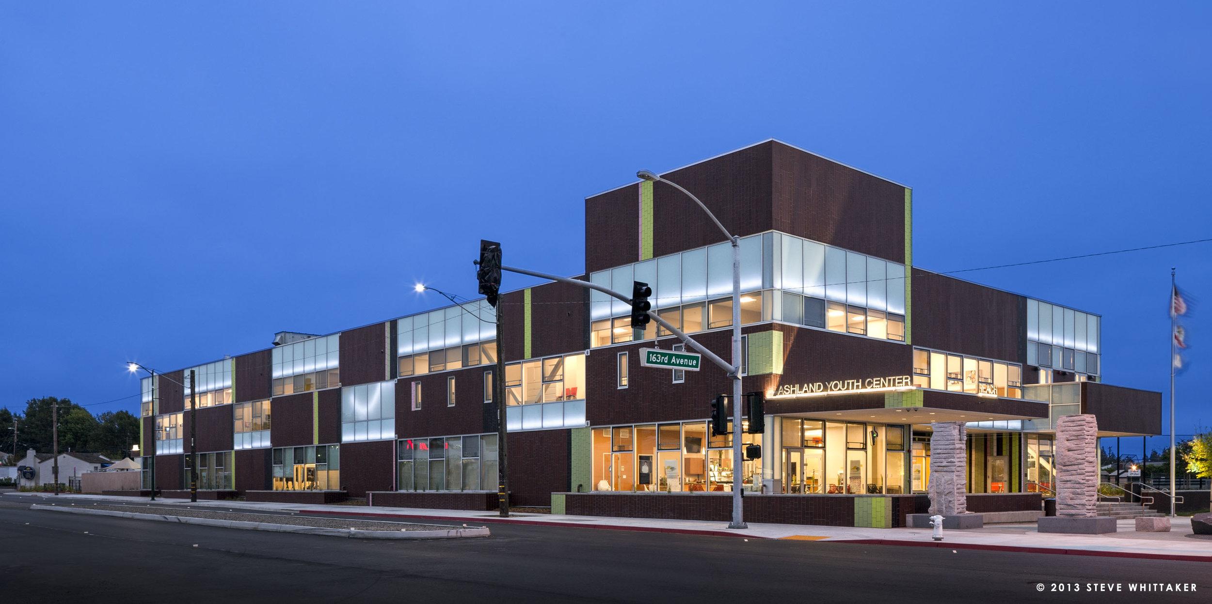 REACH - ASHLAND YOUTH CENTER (W/ NTD ARCHITECTS) - SAN LEANDRO, CA