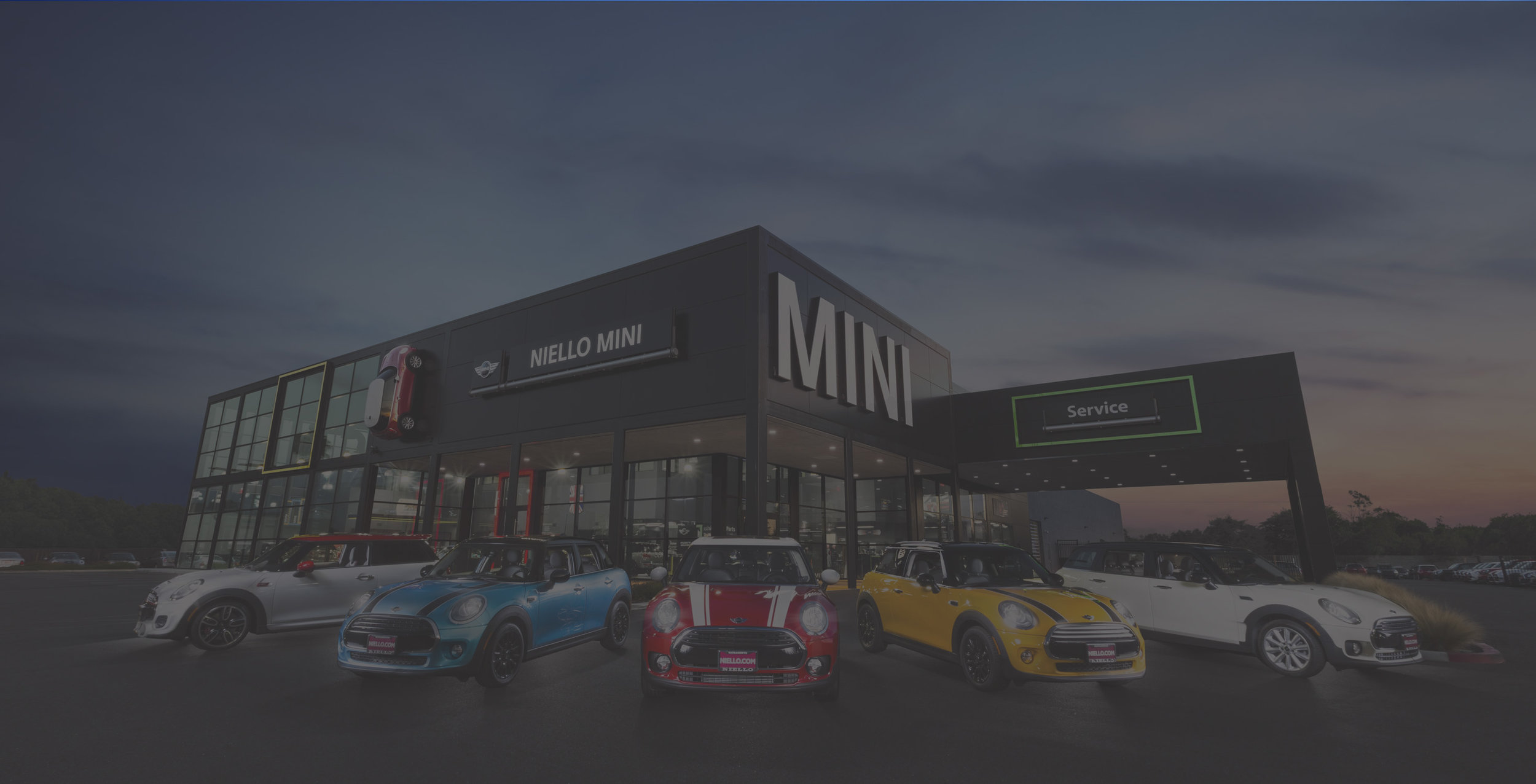Since its creation in 1959, the MINI brand has always stood for ideas, inspiration and passion. A new MINI facility in Sacramento , California reflects the combination of clear, emotionally-appealing design with a focus on the essential. With a total building area of 33, 862 sq. ft., the black metal and glass facade of the showroom and service drive and supergraphic MINI signage create an unmistakable image. The service area contains 19 service bays and a Clinker tile floor.