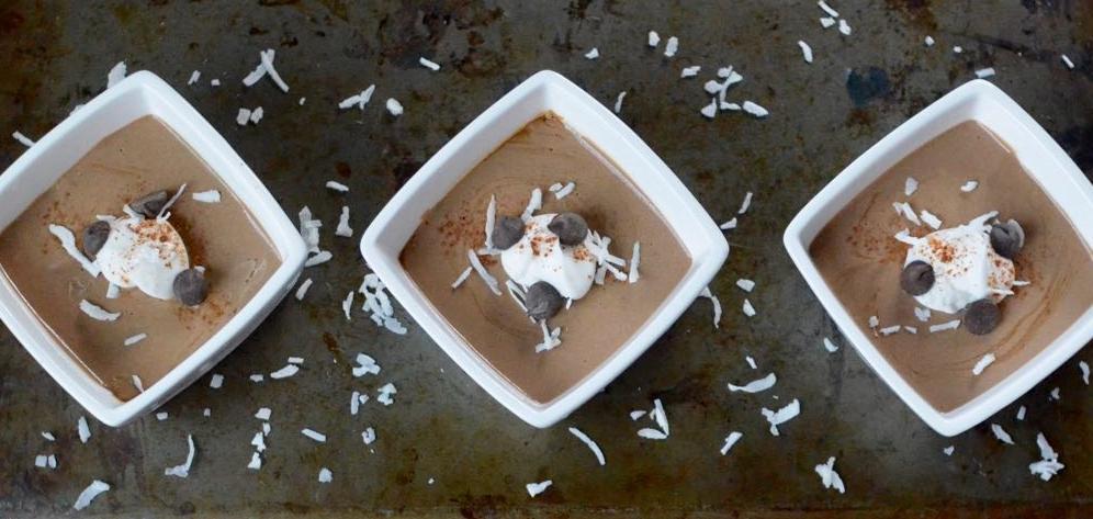 Dairy free carob or chocolate pudding recipe