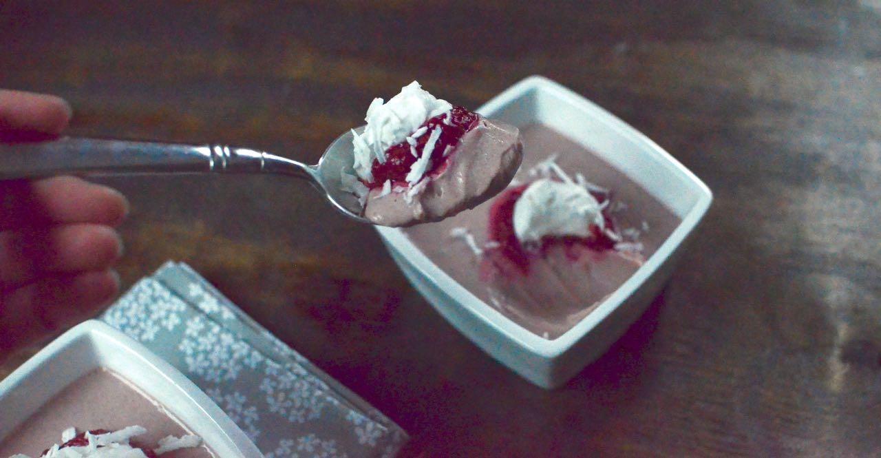 dairy free raspberry pudding recipe