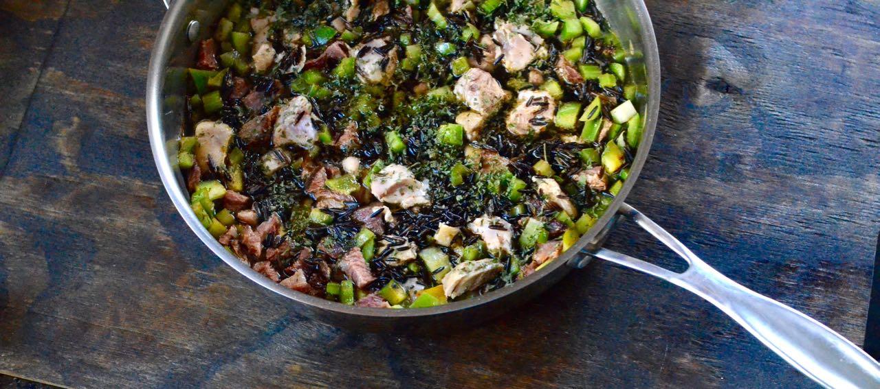 Smokey Wild Rice Pilaf recipe