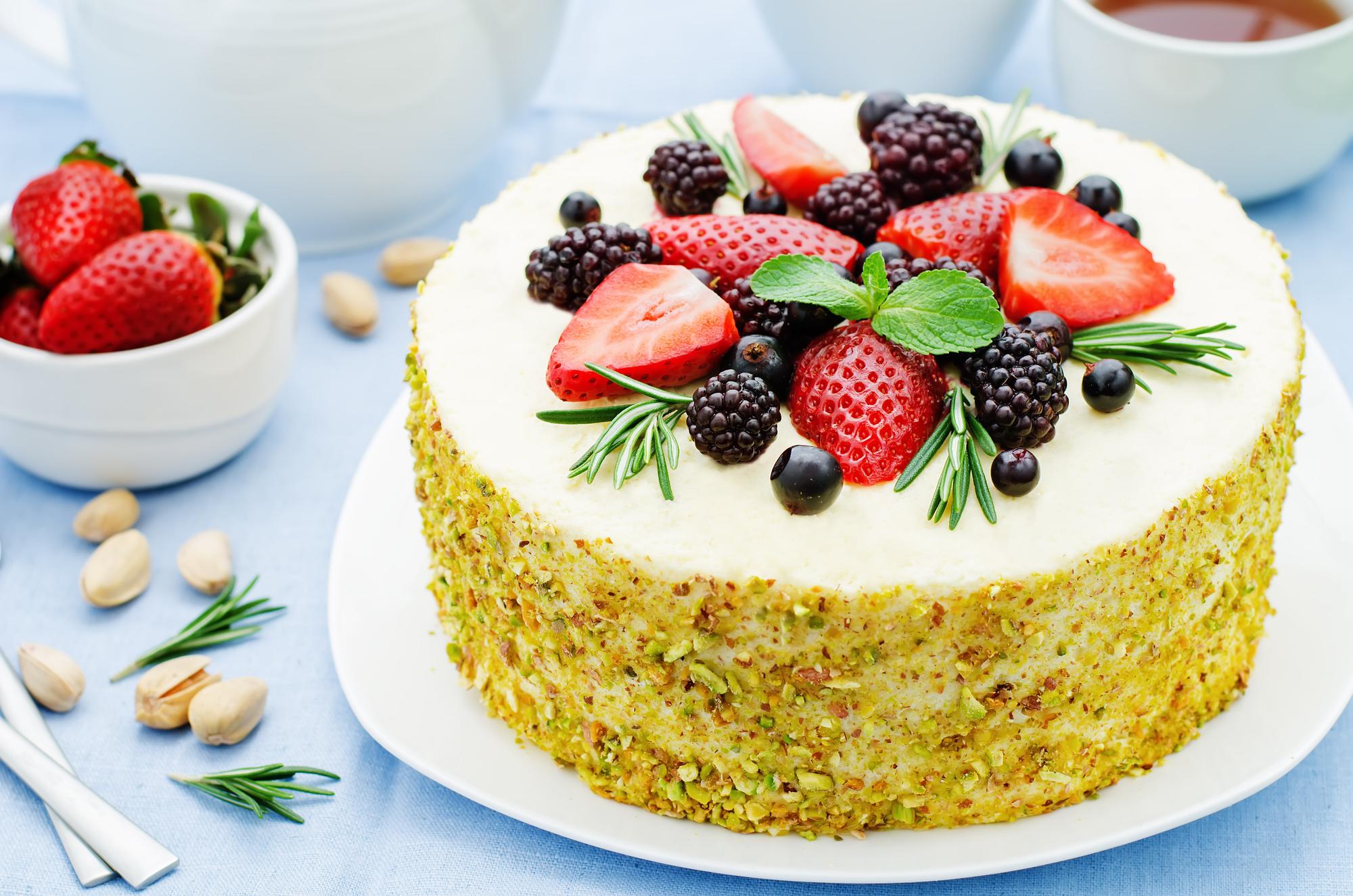 Gluten free dairy free pistachio cake recipe