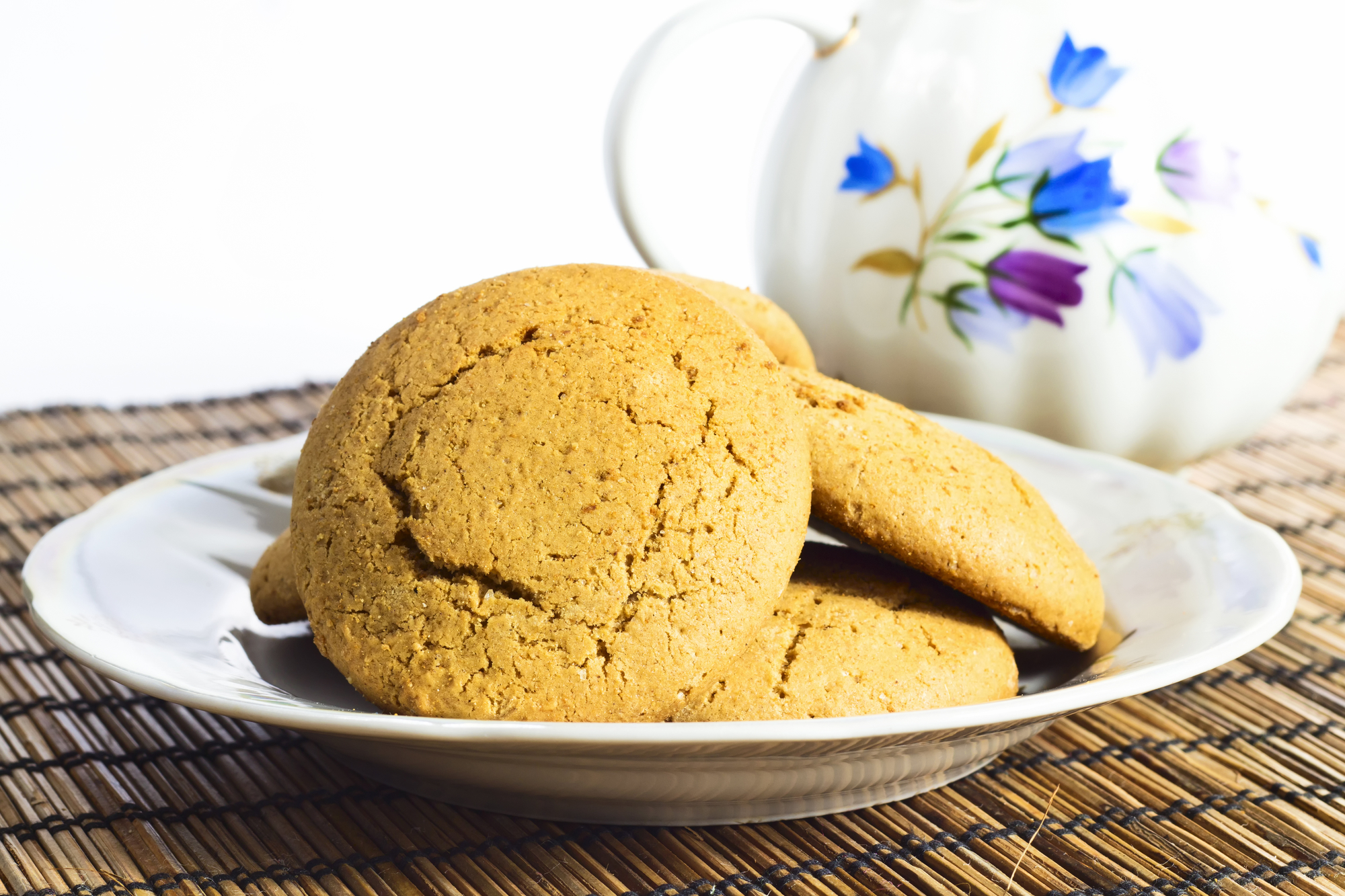 the best dairy free gluten free molasses cookies