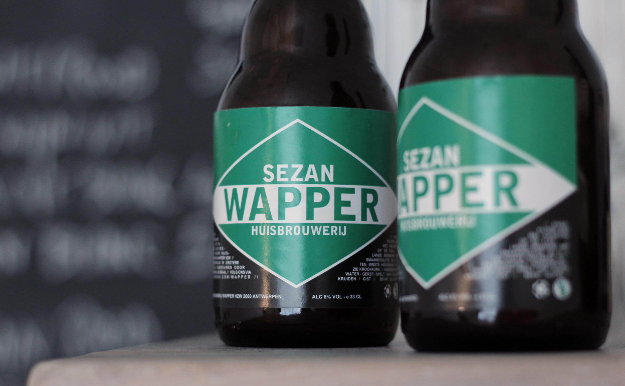 wapper sezan   eerlijk bier van hoge gisting